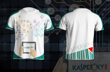 t-shirt - Kaspersky lab
