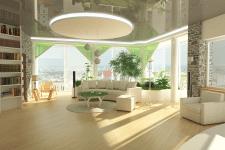 Проект квартиры в светлых тонах