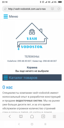 Текст на сайт