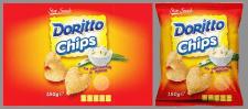 Этикетка для чипсов