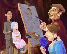 Салонный живописец