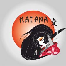 логотип для азиатской кухни