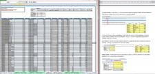 Работа в Excel + пошаговое описание/обучение