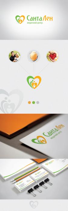 "Разработка логотипа медицинского центра ""Сантален"""