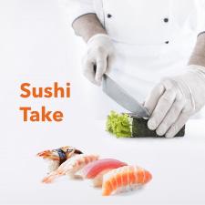 Разработка презентации для франшизы доставки суши