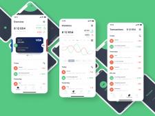 Finance wallet app