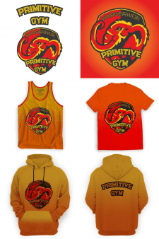 Дизайн лого для спортзала и на футболку