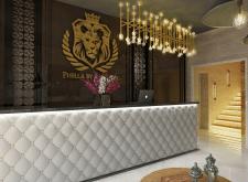 Дизайн рецепции в отеле