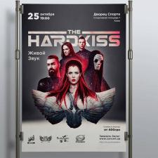 Афиша для музыкальной группы The Hardkiss