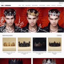 Shopify интернет-магазин OGCrowns