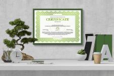 Сертификат для АВА