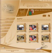 Сайт компании Сar Design