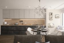 Дизайн кухні-студії