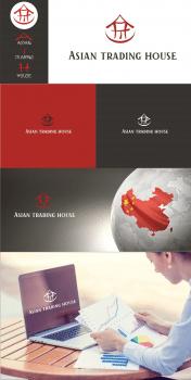 Логотип Asian tradig house