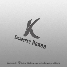 Logotype is Kosarenko Irina. Логотип для Косаренко
