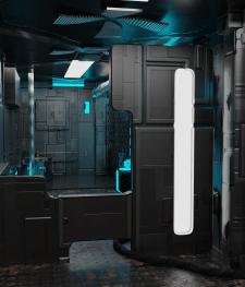 Sci-Fi коридор