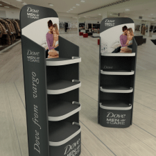 3D модель торговой мебели