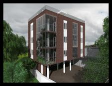 Проектирование 6-ти квартирного дома. г. Ялта
