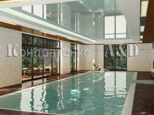 частный дом,бассейн