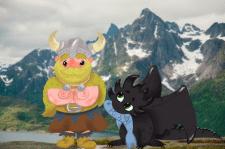 Викинг и его дракон