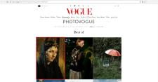Публикация на PhotoVOGUE Italy