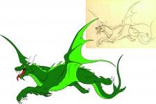 Обрисовка в векторе (Исходник плохого качества)