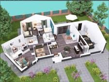 3D план будинку