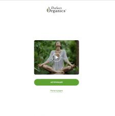 Prefect Organics Верстка мобильного приложения