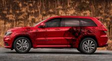 car wrap design / jeep