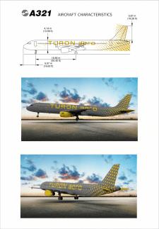 Дизайн ливреи самолета