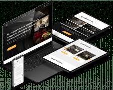 Дизайн и разработка сайта - Кинотеатр