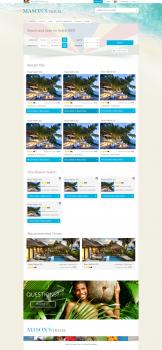 Сайт по поиску жилья и мест на Сейшелах