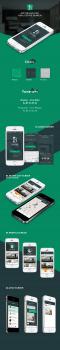 Дизайн приложения для поиска недвижимости