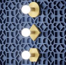Визуализация дизайнерских светильников