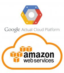 развертывание серверов на AWS и Google Cloud