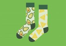 Дизайн носков