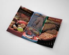 Буклет для Fresh food (разворот)