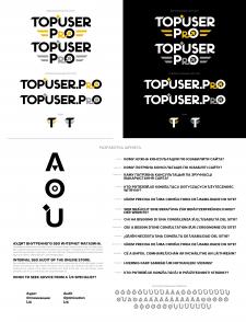 Разработка логотипа, знака и шрифта