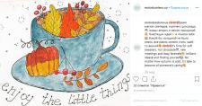 "Пост в Instagram, тематика ""Осень"""