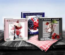 Дизайн обложек для подарочных кулинарных книг