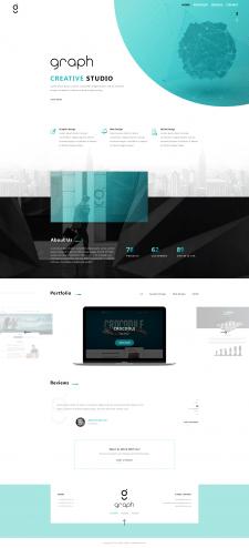 Website design for design studio