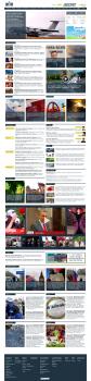 Редизайн новостного сайта