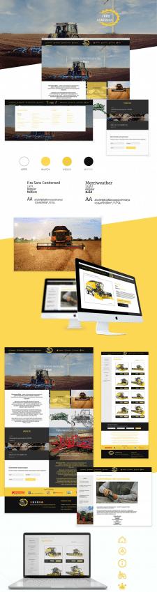 Корпоративный сайт  агрокопании Піко