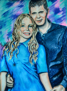 """""""Сouple in blue"""""""