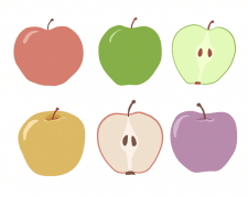 Векторні яблука