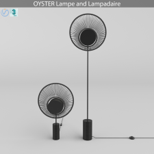 OYSTER Lampe and Lampadaire