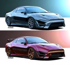 MItsubishi Eclipse Artrace Custom
