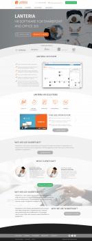 Сайт программного обеспечения Lanteria