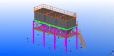КМД в Tekla structures. Бункера отходов