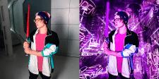 """Обработка фотографии в стиле """"Neon"""""""
